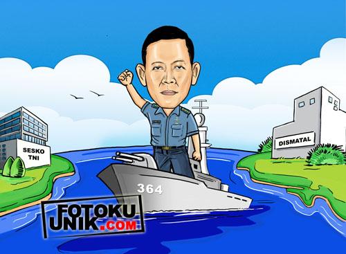 karikatur kapal